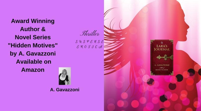 Award Winning Author & Novel Series _Hidden Motives_ by A. Gavazzoni Available on Amazon(13)