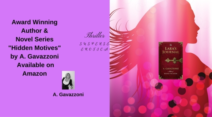 Award Winning Author & Novel Series _Hidden Motives_ by A. Gavazzoni Available on Amazon(13)