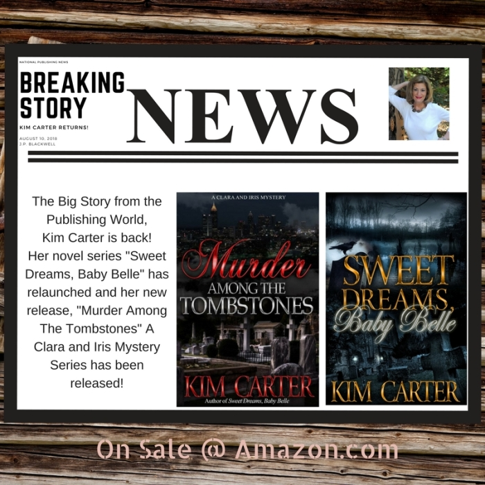 The Big Story from the Publishing World,Kim Carter is back!(2)