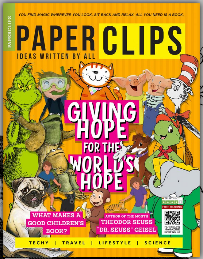 Image result for copy free images of Paperclips Magazine