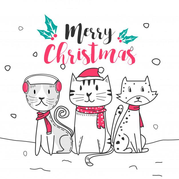 lindo-gato-feliz-navidad-estilo-dibujos-animados-doodle_41814-228